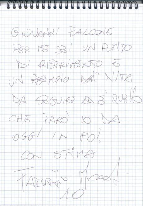Miccoli insulta Falcao: lettera