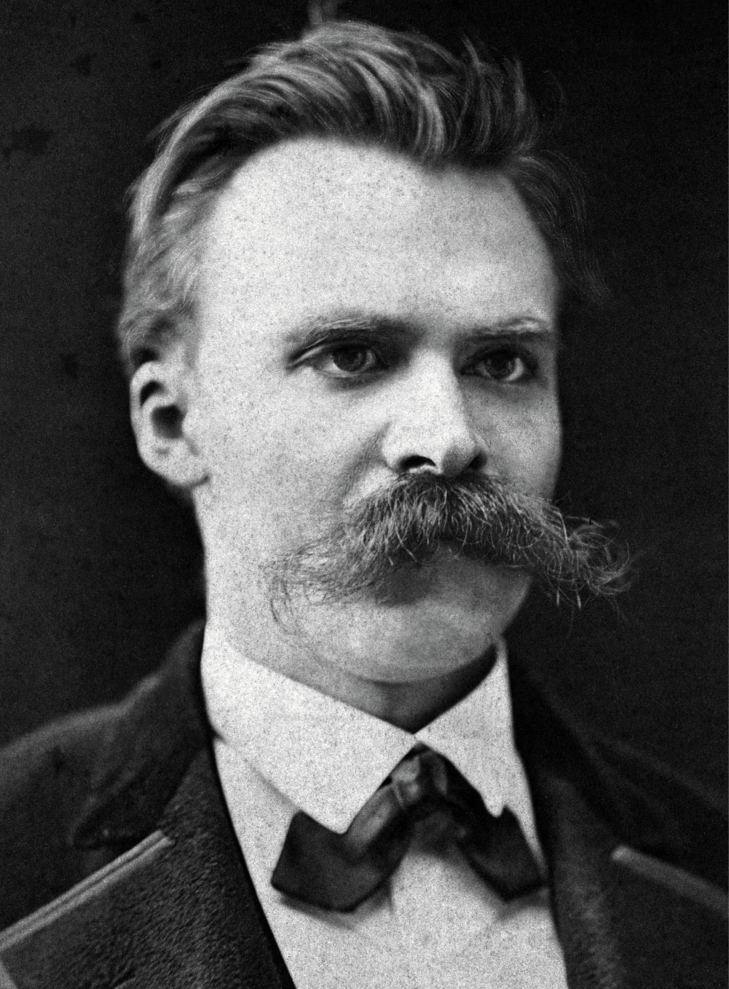 Tipi di Baffi - Nietzsche ai tempi della sua relazione con un cavallo