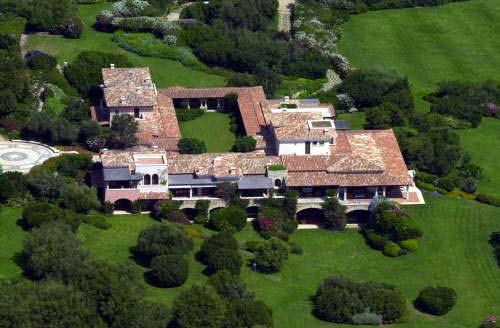 Condanna di Berlusconi - Villa certosa - Porto Rotondo