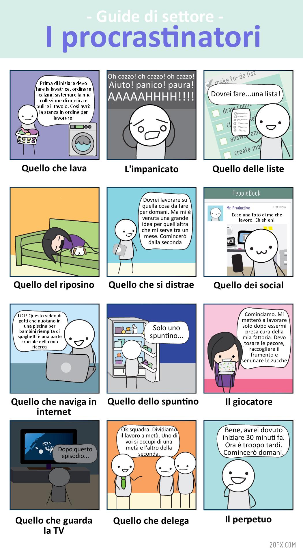 I procrastinatori - 20px