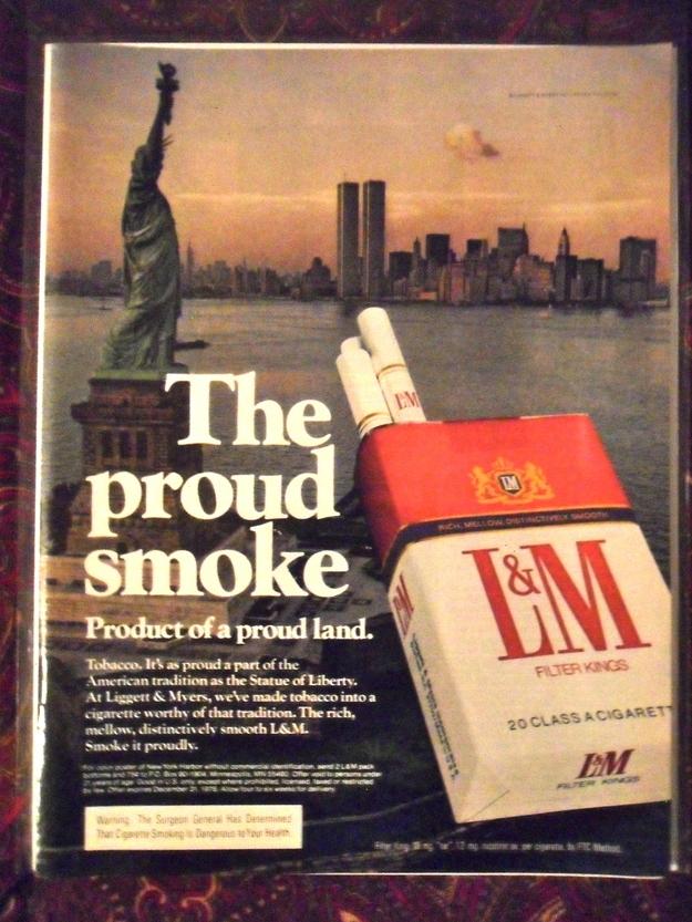 Sigarette e torri gemelle - LM