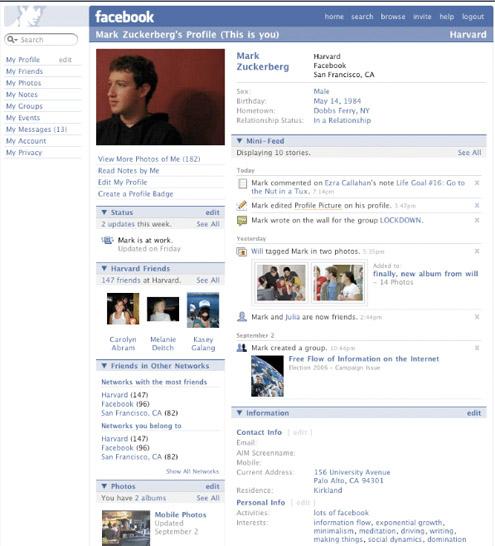Vecchio - Facebook