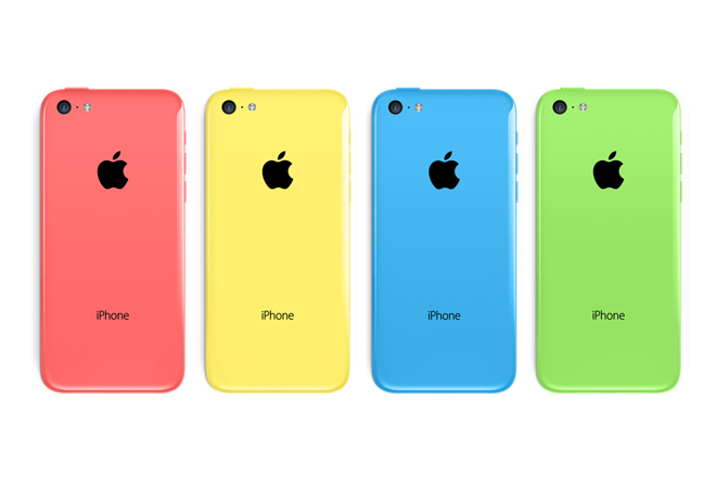 iPhone 5C - colori