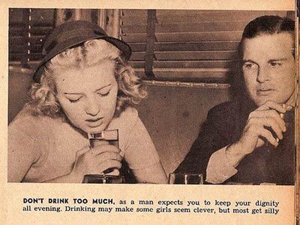 la donna del 1938 - Alcol