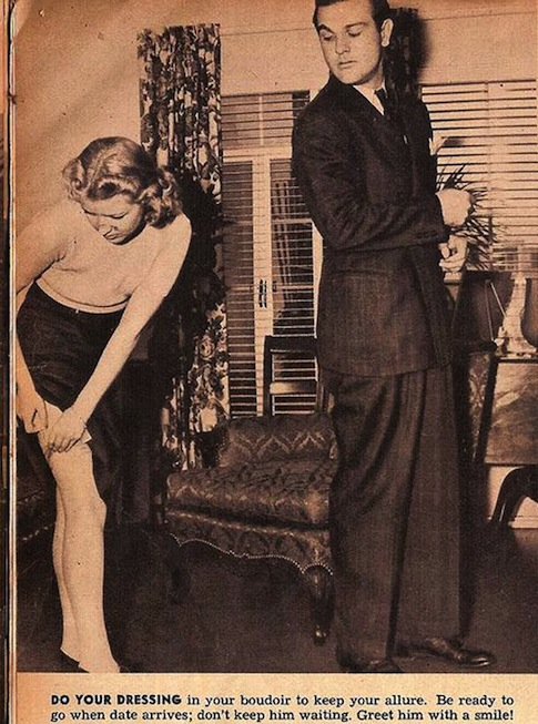 la donna del 1938 - abbigliamento