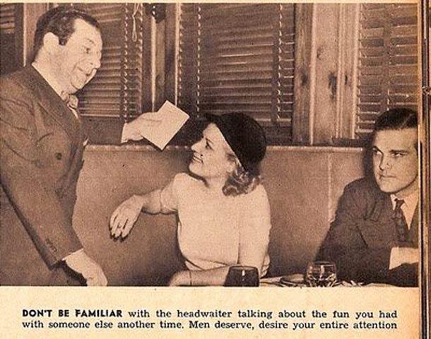 la donna del 1938 - attenzioni
