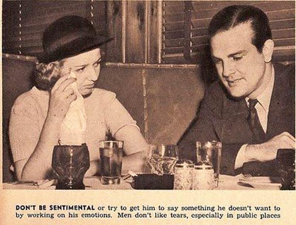 la donna del 1938 - sentimentalismi