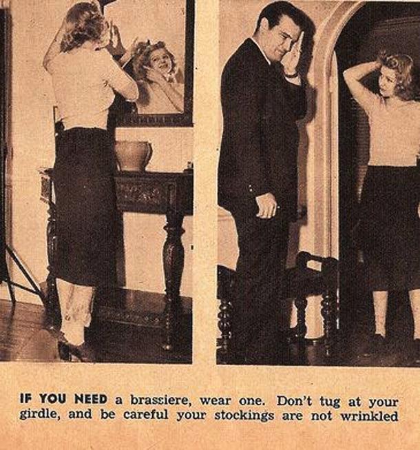 la donna del 1938 - specchio