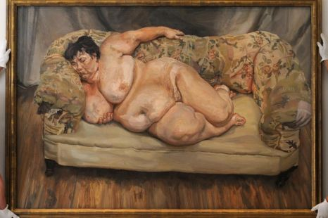 Lucien Freud death