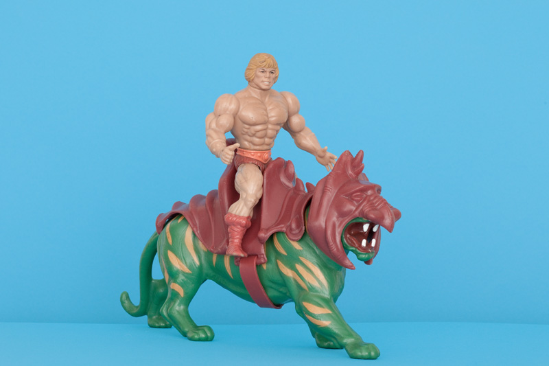 He-Man and Battle Cat, 1980s