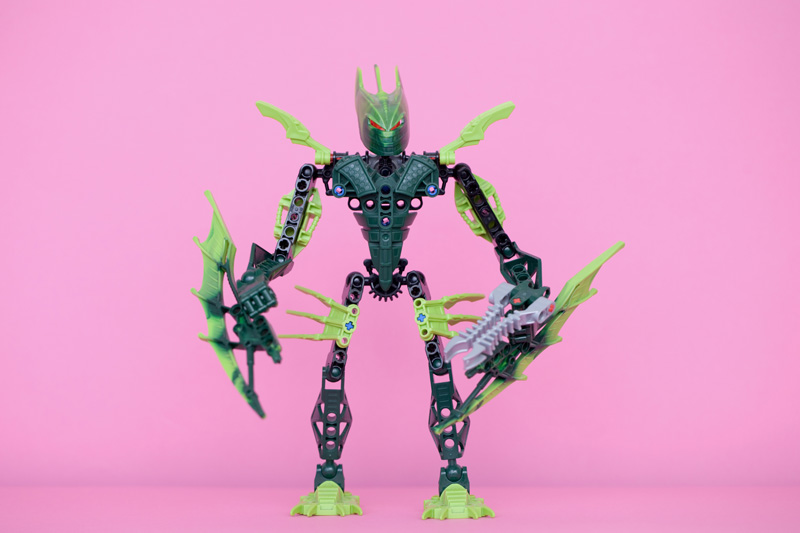 Andy Brown - Lego Bionicles, 2000s