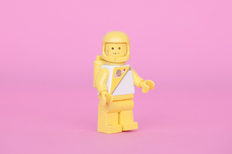 Andy Brown - Lego space figure, 1970s