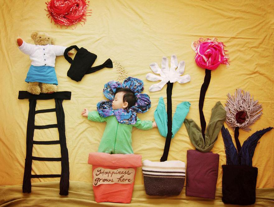 Mamma creativa  -fiori