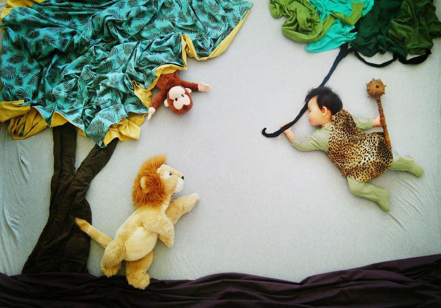Mamma creativa - giungla