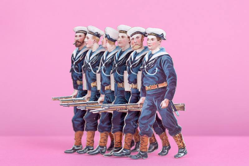 Paper Soldiers, 1890s