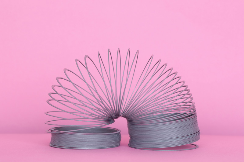 Slinky, 1950s