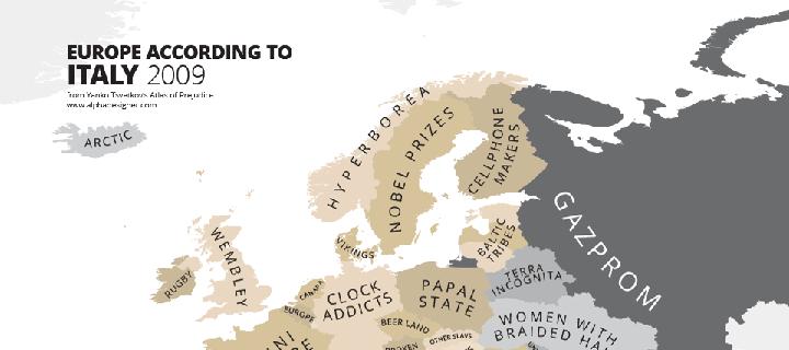 Le mappe degli stereotipi europei