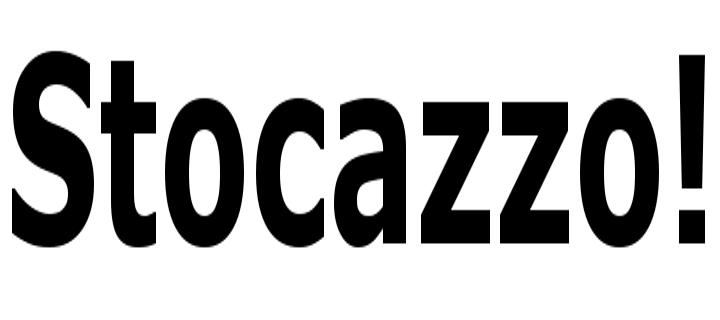 stocazzo