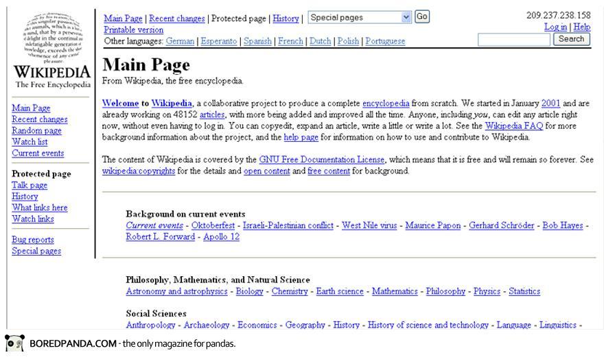 Wikipedia.org (2001)