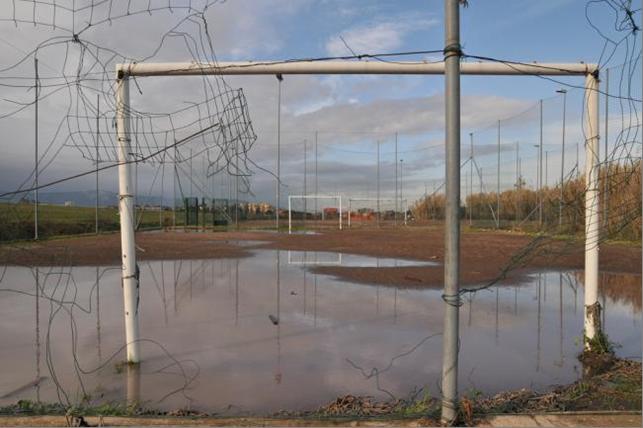 Quando si gioca in un campo del genere, il momento di smettere è già passato da un pezzo (Credit: Claudio Testa)