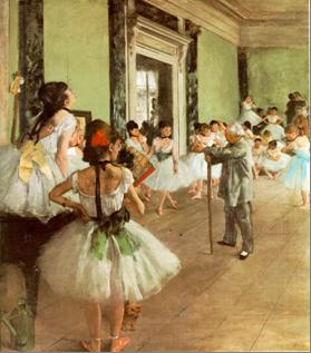 Le Ballerine di Degas sono state almeno una volta la foto profilo della figa di legno