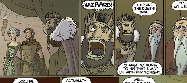 Oglaf, il fumetto che non fa ridere ma in cui trombano tutti