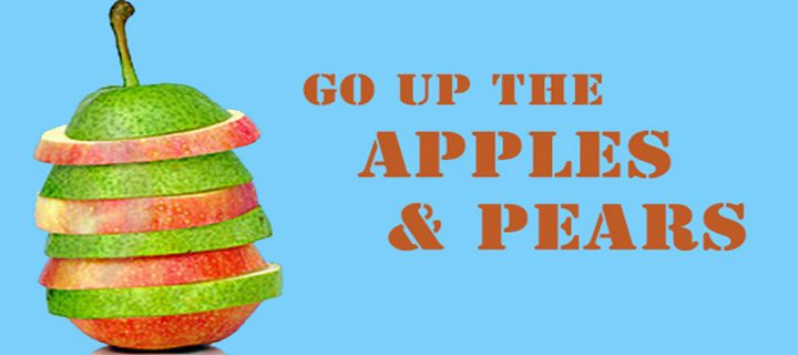 green-pear-red-apple-slices