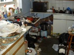 cucina schifosa