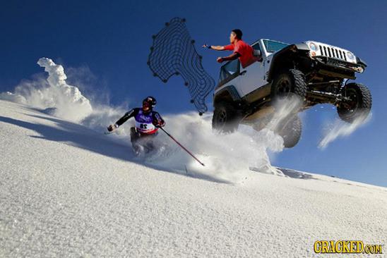 Discesa libera con fuga - olimpiadi invernali