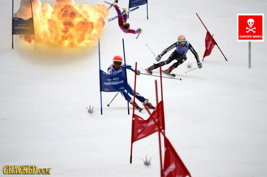 Slalom gigante - olimpiadi invernali
