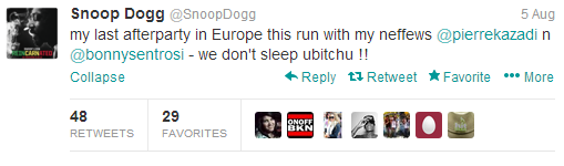 twitter snoop dogg