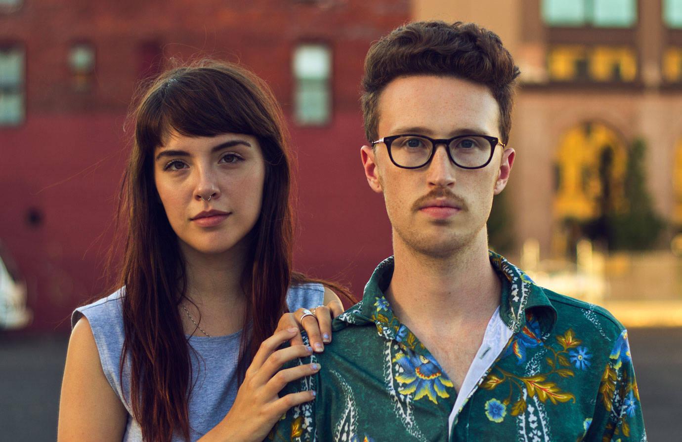 hipster e ragazza