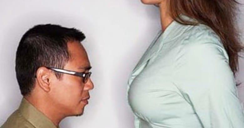 uomo basso - donna alta