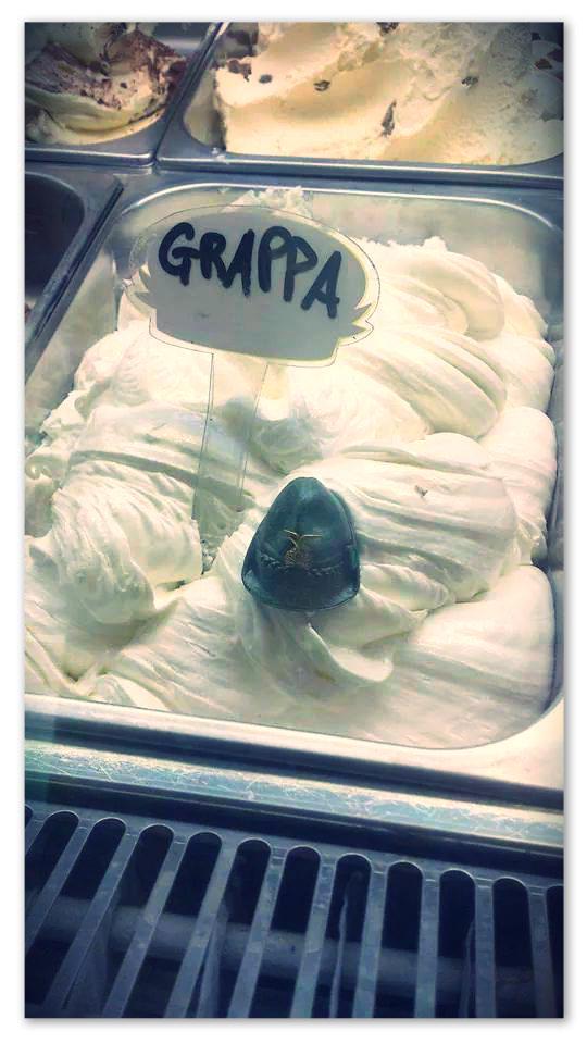1) gelato grappa