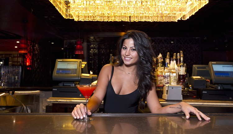 NEW YORK - DECEMBER 16: For Pulse, hottest servers. Monica Alvarez pictured at Lavo on December 12, 2014. (Anne Wermiel/NY Post)