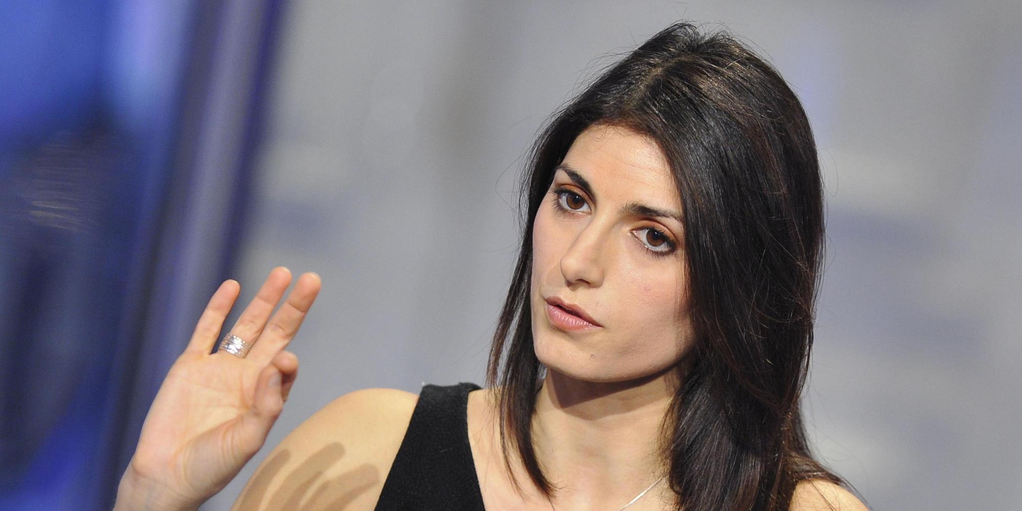 La candidata sindaco di Roma del Movimento 5 Stelle, Virginia Raggi