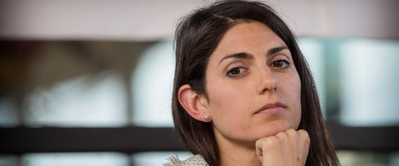03/05/2016 Roma. Confronto tra i principali candidati a sindaco di Roma. Nella foto Virginia Raggi