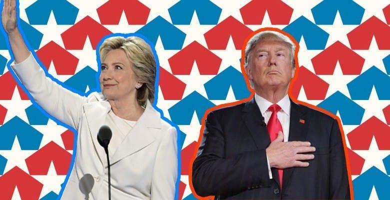 Ecco chi è il miglior candidato alla Casa Bianca tra Hillary Clin...