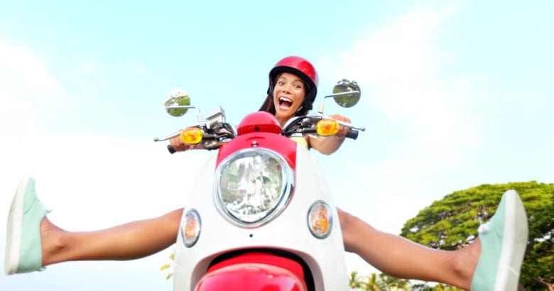 donna motorino