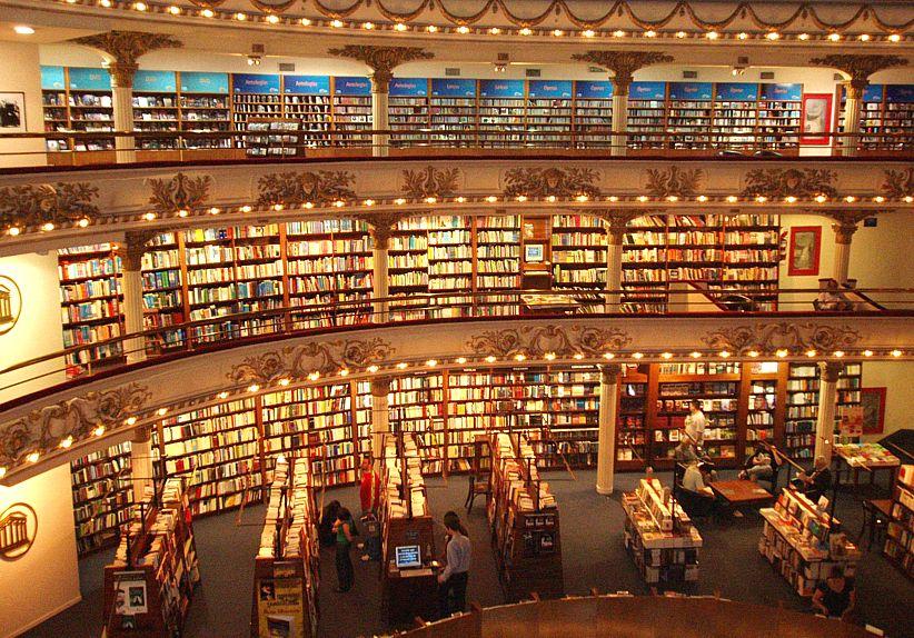 libreria enorme